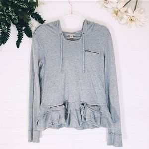Banana republic long sleeve hoody top